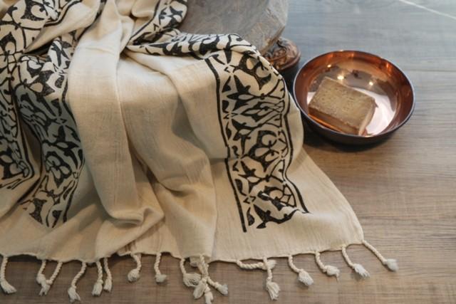 полотенце для турецкой бани хаммам