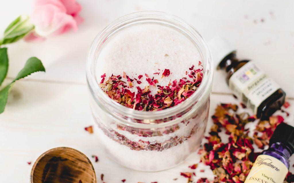 Рецепты красоты с использованием соли Мертвого моря