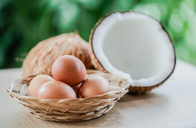 кокосовое масло при выпадении
